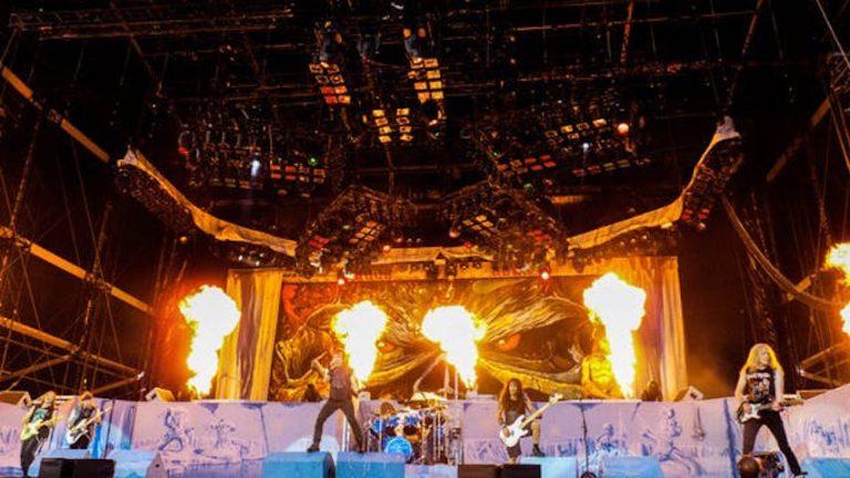 Iron Maiden på scen